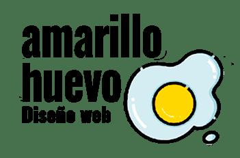 Diseño web Amarillo huevo